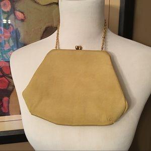 Vintage 1950s Morris Moskowitz (MM) silk handbag